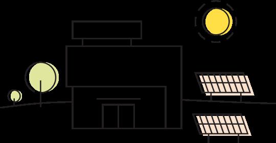 Going solar icon