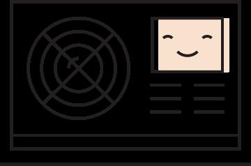 Hvac performance testing icon